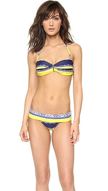 ViX Swimwear Iaia Carmen Bandeau Bikini Top