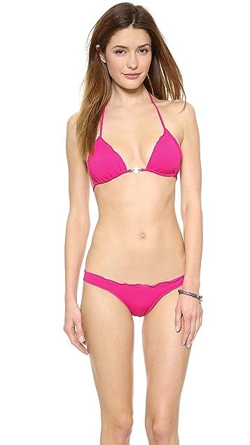 ViX Swimwear Sofia by Vix Ripple Triangle Bikini Top
