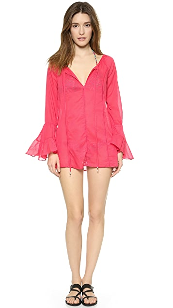 f5f8fc388a649 ViX Swimwear Sofia by Vix Pink Cover Up | SHOPBOP