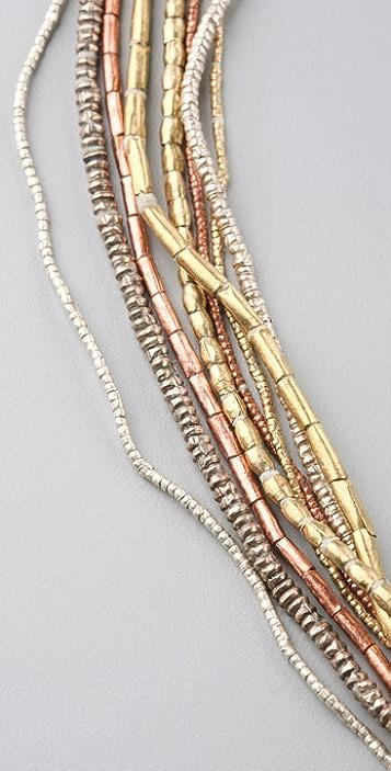 Vanessa Mooney Mixed Metal African Necklace