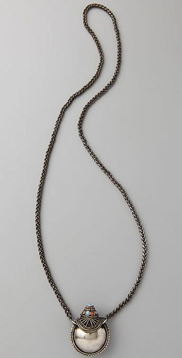 Vanessa Mooney Large Nepalese Keepsake Necklace
