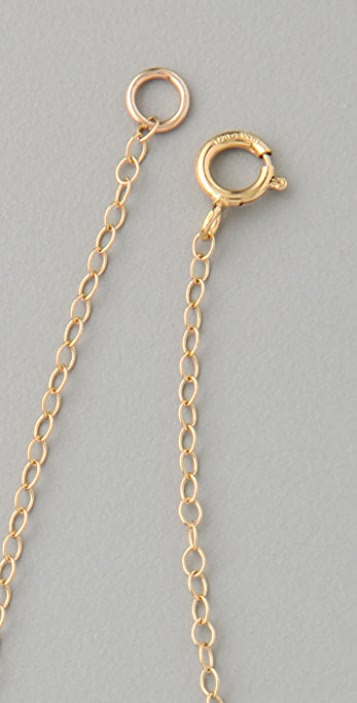 Vanessa Mooney 3 Cube Necklace