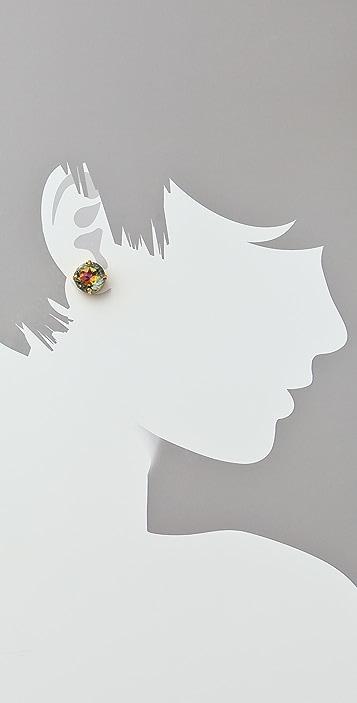 Vanessa Mooney The Big Barbie Stud Earrings