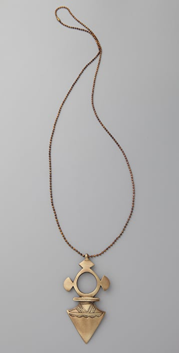 Vanessa Mooney Spear Me Necklace
