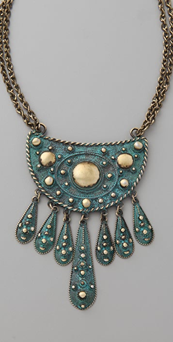 Vanessa Mooney Cleodora Short Necklace