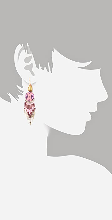 Vanessa Mooney Fly Girl Earrings