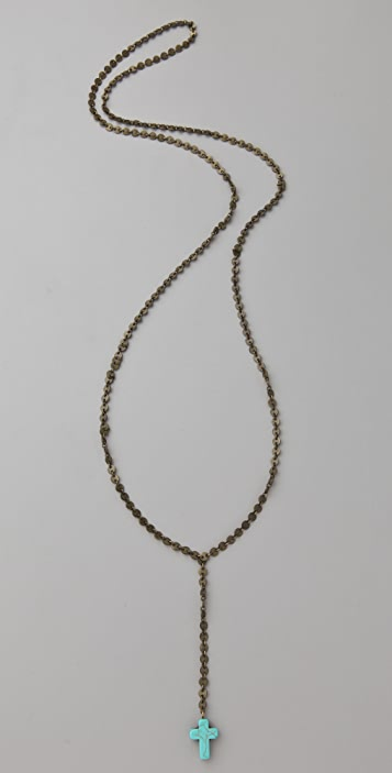 Vanessa Mooney Dominga Turquoise Necklace