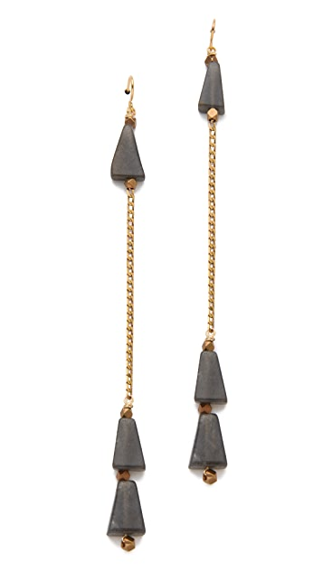 Vanessa Mooney The Coba Dangle Earrings