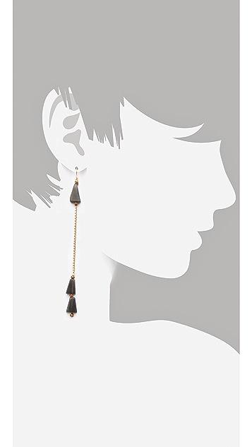 Vanessa Mooney The Coba Dangle Earrings