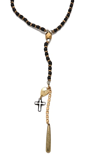 Vanessa Mooney The Silent Search Rosary Necklace