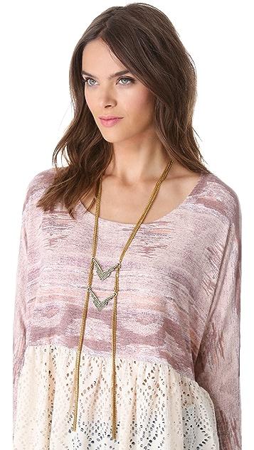 Vanessa Mooney Born To Live Necklace