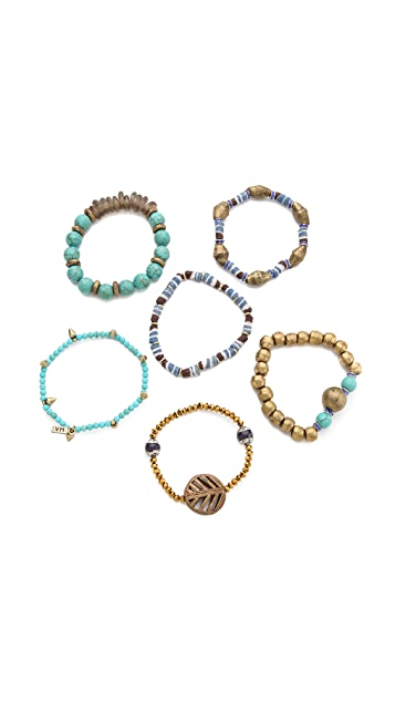Vanessa Mooney Misty Mountain Bracelet Set