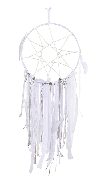 Vanessa Mooney White Fox Dreamcatcher