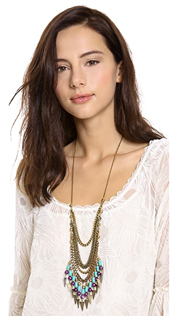 Vanessa Mooney Crossroads Statement Necklace