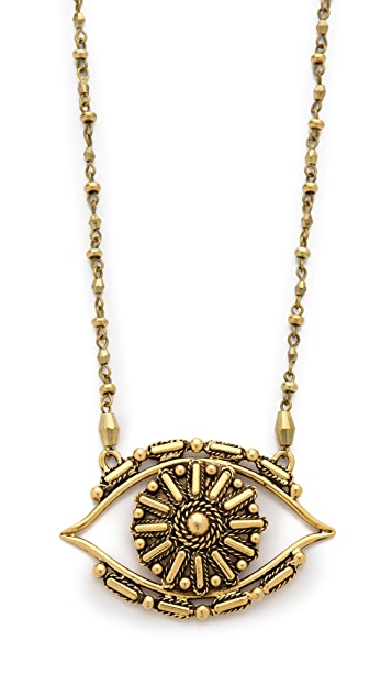 Vanessa Mooney Rocker Eye Necklace