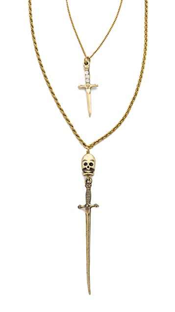 Vanessa Mooney Ghost Town Necklace
