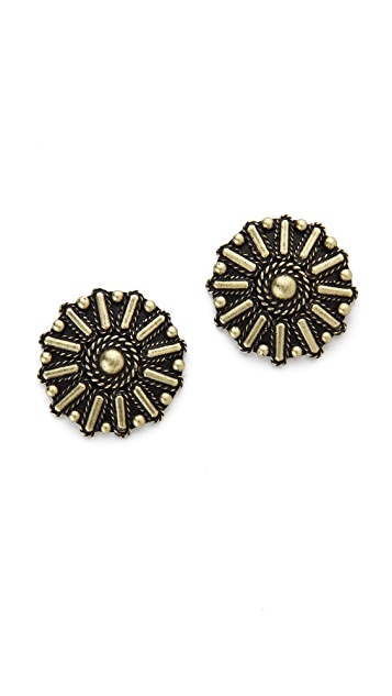 Vanessa Mooney Rocker Stud Earrings