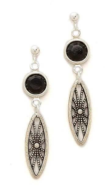 Vanessa Mooney The Legends Crystal Earrings