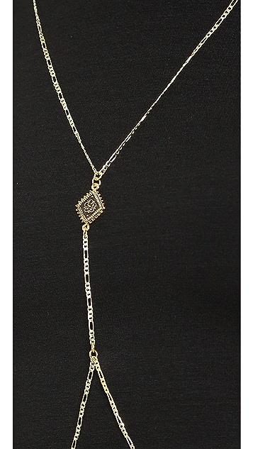 Vanessa Mooney The Diamond Lace Body Chain