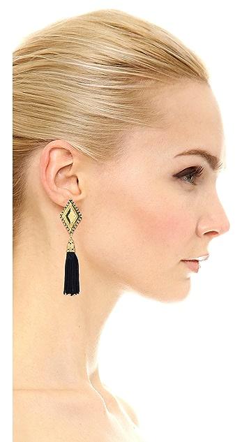 Vanessa Mooney My Cherie Tassel Earrings