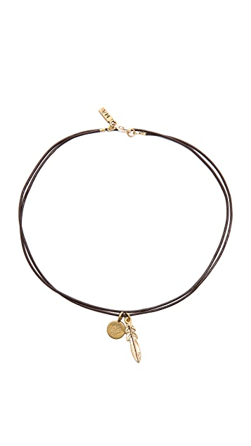 Vanessa Mooney Make It Rain Choker Necklace