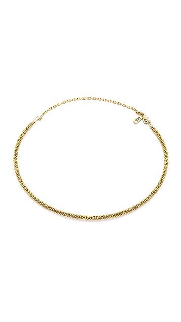 Vanessa Mooney The Daisy Heishi Choker Necklace