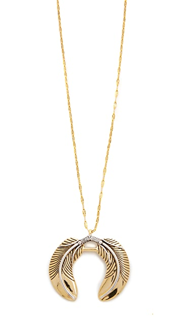 Vanessa Mooney Honey-Rider Necklace in Metallic Gold 2qy1QSHCf