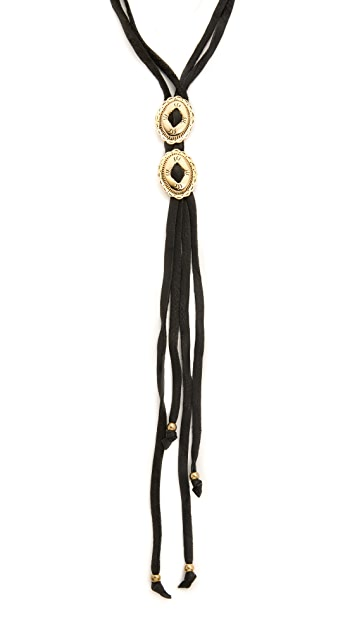 Vanessa Mooney The Jacy Bolo Necklace