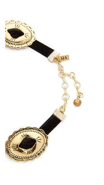 Vanessa Mooney Concho Choker Necklace