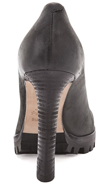 Vic Matie High Heel Knit Toe Booties