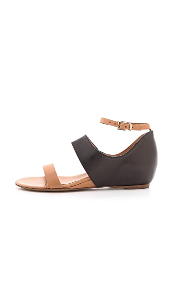 Vic Matie Hidden Wedge Sandals