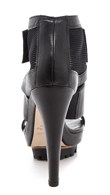 Vic Matie Lug Sole Velcro Sandals