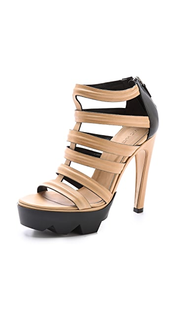 9f29c4bbece Vic Matie Cutout Sandals