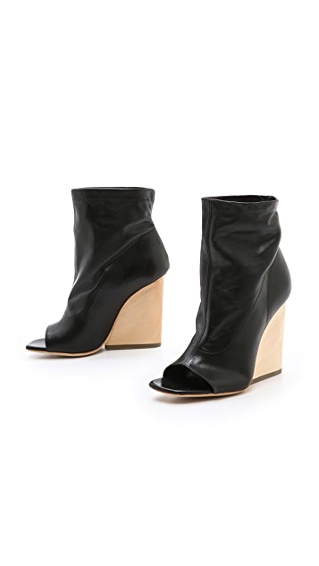 Vic Matie Wedge Booties