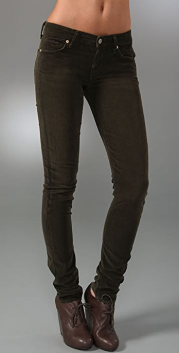 Vince Denim Corduroy Skinny Pants