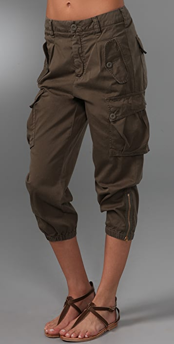 Vince Denim Cargo Pants
