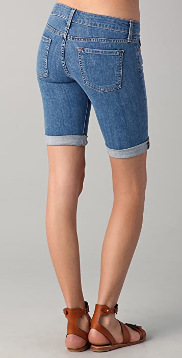 Vince Denim 5 Pocket Bermuda Shorts