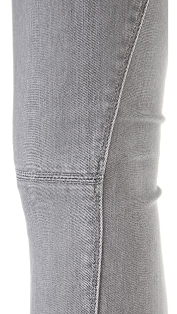 Vince Denim Seamed Skinny Jeans