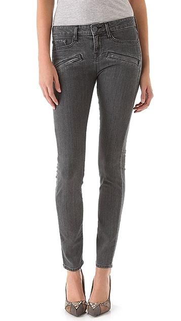 Vince Denim Welt Pocket Skinny Jeans