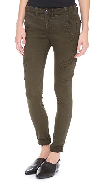 Vince Denim Slim Cargo Pants