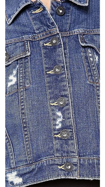 Vince Denim Parker Classic Jacket
