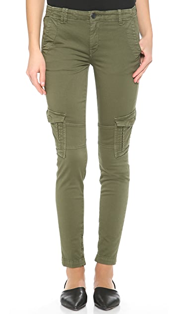 Vince Denim Military Cargo Pants