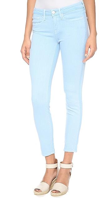 Vince Denim Ghost Stripe Skinny Jeans