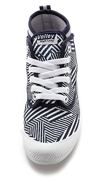 Volley Australia High Leap Print High Top Sneakers