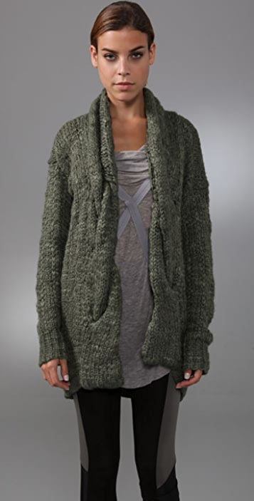 VPL Convolution Cardigan Sweater