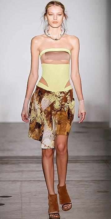 VPL Twin Flap Skirt