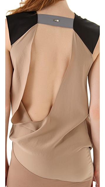 VPL Marsupial Open Back Dress