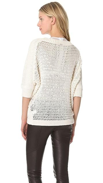 VPL Cross Grain Sweater
