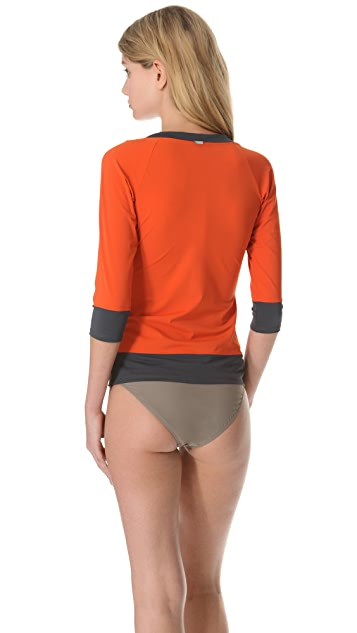 VPL Tape Vent Rash Guard Top