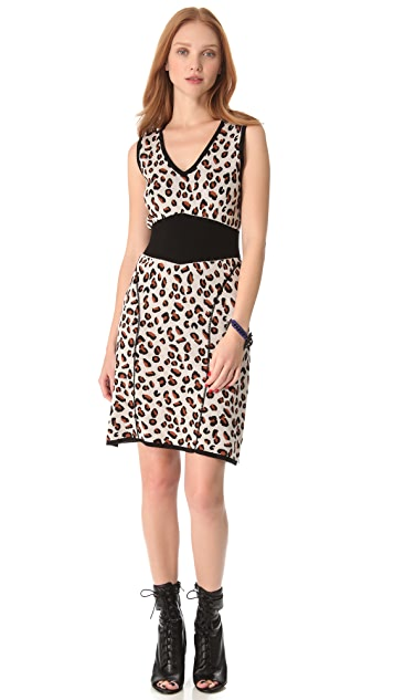 Viva Vena! by Vena Cava Cheetah Sweater Dress